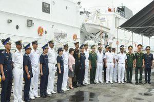Tàu ICGS VIJIT Ấn Độ thăm hữu nghị Đà Nẵng