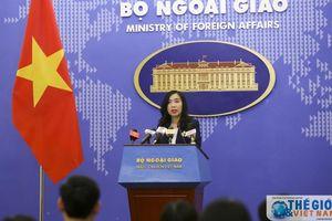 Bộ Ngoại giao thông tin chính thức về hình phạt đối với Đoàn Thị Hương
