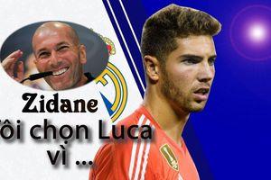 Bỏ Courtois và Navas, Zidane giải thích lý do để con trai bắt chính