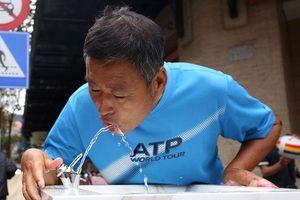 Hà Nội lắp đặt ba trụ nước sạch miễn phí