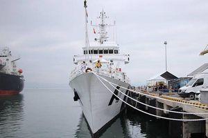 Tàu tuần tra bảo vệ bờ biển Ấn Độ cập cảng Tiên Sa