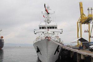Chùm ảnh: Tàu Lực lượng bảo vệ bờ biển Ấn Độ vừa cập cảng Tiên Sa thăm Đà Nẵng
