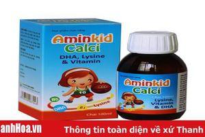 Cục ATTP: Cẩn trọng với thông tin quảng cáo Aminkid Calci trên một số website
