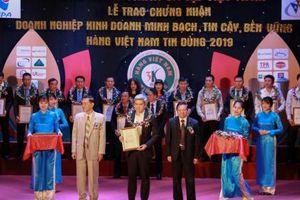 URC Việt Nam được vinh danh 'Hàng Việt Nam tin dùng 2019'