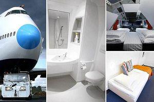 Biến máy bay Boeing 747 thành khách sạn đẹp miễn chê