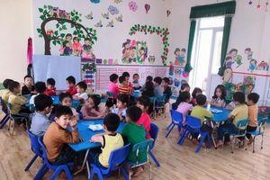 Trường MN Tân Phong:Nâng cao chất lượng trường Chuẩn Quốc gia mức độ 2