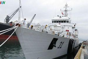 Tàu lực lượng bảo vệ bờ biển Ấn Độ thăm Đà Nẵng
