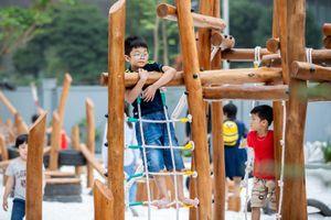 Áp dụng triết lý giáo dục 'khởi nguyên xanh' vào ngôi trường mới