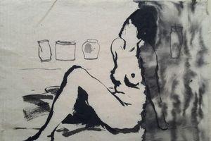 Trưng bày các bức tranh nude 'khép kín'