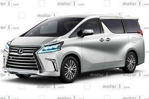 Lexus 'nhá' minivan hạng sang đấu Mercedes-V-Class