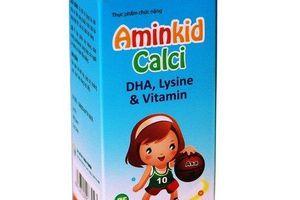 Cẩn trọng khi mua thực phẩm BVSK Aminkid Calci?