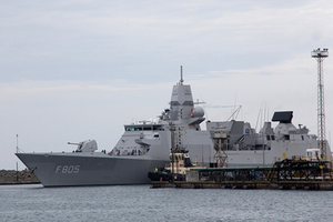 Hạm đội NATO thăm cảng Poti, diễn tập với tàu bảo vệ bờ biển Gruzia