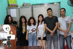 Nhóm 'nam thanh nữ tú' tụ tập phê ma túy trong quán karaoke