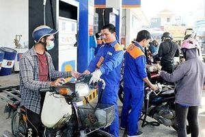Giá xăng tăng gần 1.500 đồng/lít