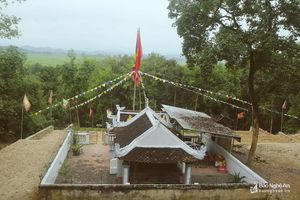 Ngôi đền thiêng ở Thanh Chương với 'chuyện lạ' thời chiến tranh
