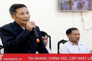Bí thư cấp ủy ở Hà Tĩnh tiếp dân: Huyện triển khai, xã chưa 'động tĩnh'!
