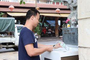 Trụ nước sạch miễn phí tại Hà Nội
