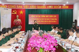 Đại tướng Ngô Xuân Lịch: Lực lượng Hải quân phải tuyệt đối không để bị động, bất ngờ