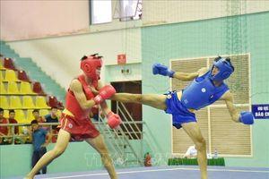 Trên 260 vận động viên tham dự Giải vô địch Wushu toàn quốc năm 2019
