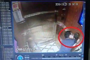Lại xuất hiện 'yêu râu xanh' hôn tới tấp bé gái trong thang máy