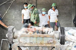 Bị cuốn vào máy xay phế liệu, một công nhân tử vong