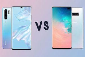 So sánh tốc độ Huawei P30 Pro với Samsung Galaxy S10 Plus