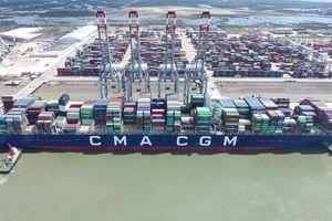 Cảng Quốc tế Cái Mép đứng thứ 2 trong số cảng lớn châu Á