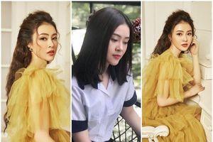 Á hậu Lý Kim Thảo khoe vẻ đẹp trong veo, kể về vai diễn nữ sinh nhà nghèo ham sống ảo