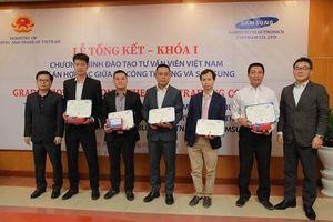 Samsung hỗ trợ đào tạo hơn 100 chuyên gia về công nghiệp hỗ trợ
