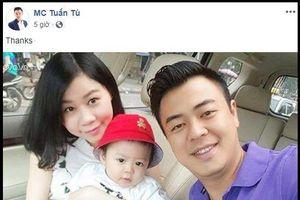 Vừa tái xuất, MC Tuấn Tú đã gọi vợ là 'Phù thủy' và đây là phản ứng của cô vợ!