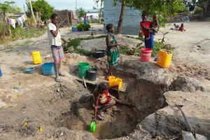 Dịch tả bùng phát ở Mozambique sau bão Idai