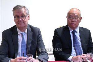 Chủ tịch Quốc hội Nguyễn Thị Kim Ngân tiếp lãnh đạo Tập đoàn Hàng không vũ trụ và Quốc phòng safran - pháp