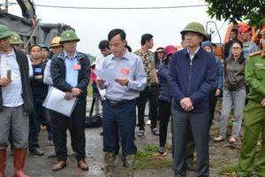 Cưỡng chế thu hồi đất dự án cao tốc Vân Đồn- Móng Cái
