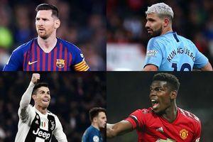 Top 20 cầu thủ có thu nhập cao nhất thế giới: Messi không có đối thủ
