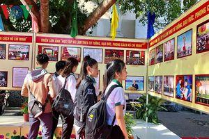 Trưng bày 200 hình ảnh, bút tích của Chủ tịch Hồ Chí Minh tại Cần Thơ