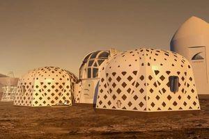 Mẫu nhà ở tương lai trên Sao Hỏa