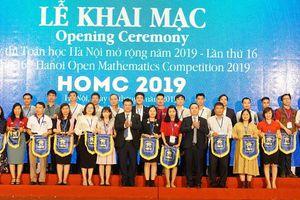 Kỳ thi Toán học Hà Nội mở rộng 2019: Kết nối bạn bè bằng ngôn ngữ toán học