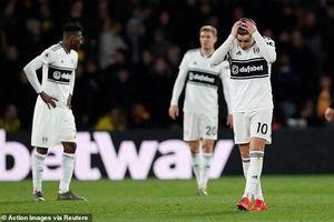 Đầu tư cả đống tiền, Fulham vẫn cay đắng xuống hạng trước 5 vòng
