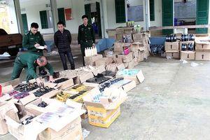 Quảng Ninh: Lô hàng cả nghìn sản phẩm mỹ phẩm nhập lậu bị phát hiện