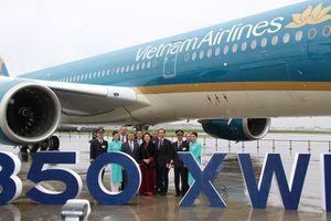 Lễ ra mắt máy bay A350-900 thứ 14 của Vietnam Airlines