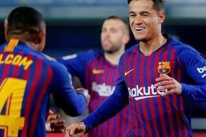 Rượt đuổi tỉ số nghẹt thở, Barcelona suýt trắng tay trước 'Tàu ngầm vàng'
