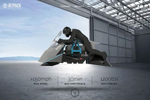 Siêu môtô bay Jetpack Aviation Speeder giá 8,8 tỷ đồng