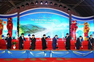 Chính thức khởi công dự án đường cao tốc Vân Đồn - Móng Cái