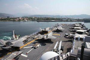 Cam kết hỗ trợ Philippines, Mỹ rầm rập đưa F-35 ra Biển Đông