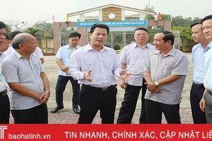 Vũ Quang quyết tâm xây dựng huyện nông thôn mới năm 2020
