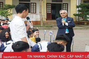 '50 năm ngày trở về' của cựu học sinh Trường THPT Cẩm Xuyên