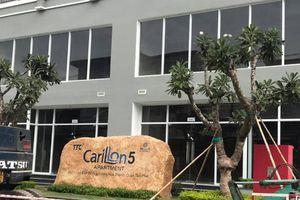 Dự án Carillon 5 của TTC Land chưa giải chấp trước ngày bàn giao