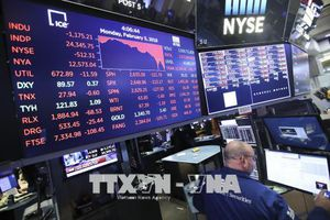 Thị trường Phố Wall chuyển động ngược chiều