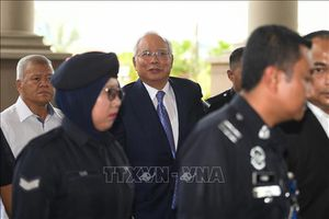 Malaysia mở phiên tòa đầu tiên xét xử cựu Thủ tướng Najib Razak