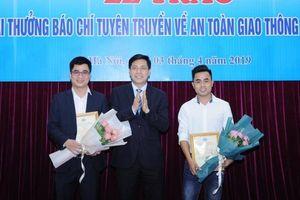 Báo Giao thông đoạt giải Nhất cuộc thi viết về ATGT